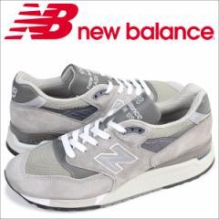 ニューバランス new balance スニーカー M998 GY MADE IN USA Dワイズ メンズ 靴 グレー [5/26 追加入荷]