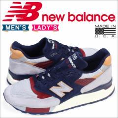 ニューバランス 998 メンズ レディース new balance スニーカー M998CSU Dワイズ MADE IN USA 靴 ネイビー