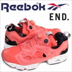 リーボック ポンプフューリー スニーカー Reebok END INSTAPUMP FURY OG PINK SALMON BD3346 メンズ エンド コラボ 靴 5/18 再入荷