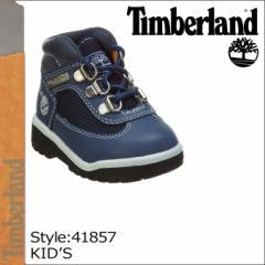 ティンバーランド Timberland ベイビー キッズ FIELD BOOTS TD ブーツ フィールドブーツ タドラー 41857 ネイビー