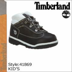 ティンバーランド Timberland ベイビー キッズ FIELD BOOTS TD ブーツ フィールドブーツ タドラー 41869 ブラック