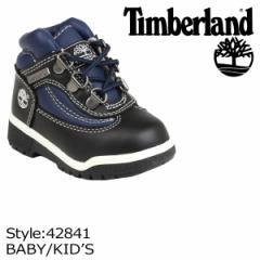 ティンバーランド Timberland ベビー キッズ FIELD BOOT TD ブーツ フィールドブーツ 42841 ブラック