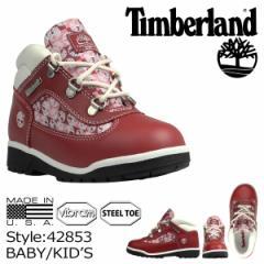 ティンバーランド Timberland ベイビー キッズ FIELD BOOTS TD ブーツ フィールドブーツ タドラー 41829 ブラック
