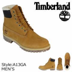 ティンバーランド ブーツ メンズ 6インチ Timberland 6INCH WARM LINED BOOTS 6インチ ウォーム ラインド A13GA ウィート
