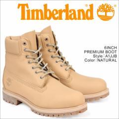 ティンバーランド ブーツ メンズ 6インチ Timberland 6INCH PREMIUM BOOT A1JJB プレミアム Wワイズ 防水 ライトブラウン