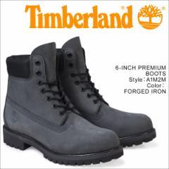 ティンバーランド ブーツ メンズ 6インチ Timberland 6INCH PREMIUM BOOTS A1M2M Wワイズ プレミアム 防水 グレー