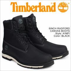 ティンバーランド 6インチ メンズ Timberland ブーツ 6INCHI RADFORD CANVAS BOOTS A1MFI Wワイズ 防水 ブラック
