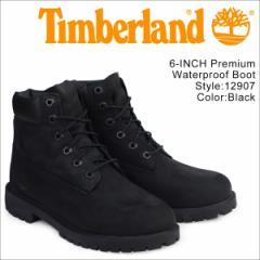 ティンバーランド レディース ブーツ 6インチ Timberland 6INCH WATERPROOF BOOTS プレミアム ウォータープルーフ 12907 [2/19 追加入荷]