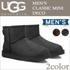 UGG アグ メンズ クラシック ミニ ムートンブーツ MENS CLASSIC MINI DECO 1003945