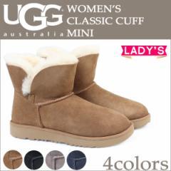 UGG アグ クラシック カフ ミニ ムートンブーツ WOMENS CLASSIC CUFF MINI 1016417 レディース 4カラー