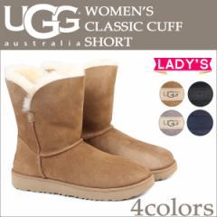 UGG アグ クラシック カフ ショート ムートンブーツ WOMENS CLASSIC CUFF SHORT 1016418 レディース 4カラー