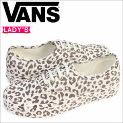 VANS オーセンティック スニーカー レディース バンズ ヴァンズ AUTHENTIC MONO PRINT VN0A38EMOP5 靴 レオパード [5/2 追加入荷]