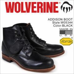ウルヴァリン 1000マイル ブーツ WOLVERINE ADDISON 1000MILE WINGTIP BOOT Dワイズ W05344 ウィングチップ ワークブーツ メンズ