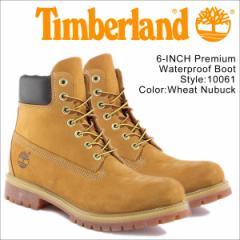 ティンバーランド ブーツ メンズ 6インチ Timberland 6INCH PREMIUM WATERPROOF BOOTS 10061 プレミアム ウォータープルーフ [2/19 追加