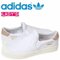アディダス エブリン adidas Originals レディース スリッポン スニーカー EVERYN SLIPON W CQ2060 ホワイト オリジナルス 4/19 新入荷