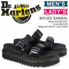 ドクターマーチン マイルズ メンズ レディース Dr.Martens サンダル MYLES SANDAL ブラック R23523001 [予約商品 4/24頃入荷予定 追加入