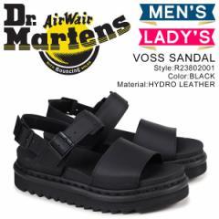 ドクターマーチン ヴォス メンズ レディース Dr.Martens サンダル VOSS SANDAL ブラック R23802001 [4/24 再入荷]