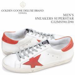 ゴールデングース Golden Goose スニーカー メンズ スーパースター SNEAKERS SUPERSTAR ホワイト G32MS590 D90