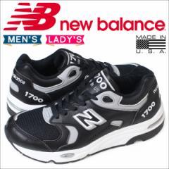 ニューバランス 1700 メンズ レディース new balance スニーカー M1700CAA Dワイズ MADE IN USA 靴 ブラック [3/9 再入荷]