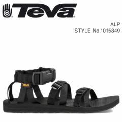 Teva テバ サンダル メンズ アルプ ALP ブラック 1015849 4/18 新入荷