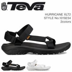 Teva テバ サンダル メンズ ハリケーン XLT2 HURRICANE ブラック ホワイト 1019234 4/18 新入荷