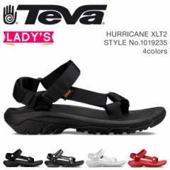 Teva テバ サンダル レディース ハリケーン XLT2 HURRICANE ブラック ホワイト レッド 1019235 4/18 新入荷