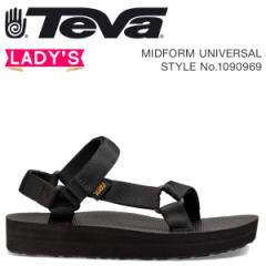 Teva テバ サンダル レディース ミッドフォーム ユニバーサル MIDFORM UNIVERSAL ブラック 1090969 4/18 新入荷