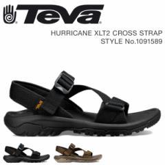 Teva テバ サンダル メンズ ハリケーン XLT2 HURRICANE CROSS STRAP ブラック ダークオリーブ 1091589 4/18 新入荷