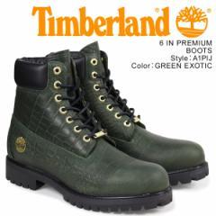 ティンバーランド ブーツ メンズ 6インチ Timberland 6INCH PREMIUM BOOT A1PIJ Wワイズ プレミアム グリーン