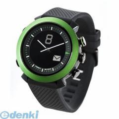 9c2fce2e7a CONNECTEDEVICE [4562187616208] Bluetooth SMART対応アナログ腕時計 COGITO CLASSIC  シリコンバンド グリーン