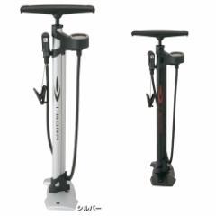 ティゴラ(TIGORA) 自転車 エアポンプ(空気入れ) 圧力ゲージ付き高気圧対応フロアポンプ
