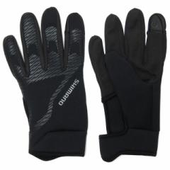 SHIMANO(シマノ) 自転車用 サイクル用 グローブ Windbreak Glove Covers :ブラック
