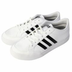 adidas(アディダス) ユニセックス スポーツシューズ(スニーカー) NEOSET SL : ホワイト×ブラック (BC0130)