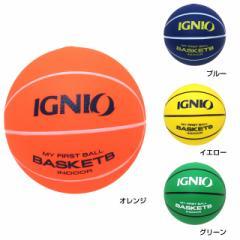イグニオ(IGNIO) ジュニア やわらか安全 ミニボール バスケットボールタイプ 子供用 キッズ (IG-8ZB0015)