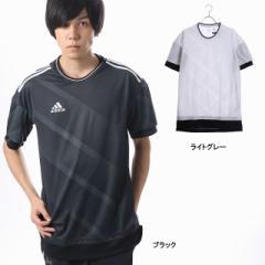 アディダス メンズ 半袖シャツ RENGI トレーニングジャージ半袖1 (CE8181) サッカー/フットサル adidas