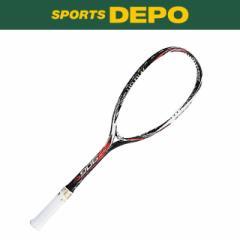 ヨネックス 〔後衛向き〕 ソフトテニスラケット ネクシーガ90G : ブラック×レッド (NXG90G)