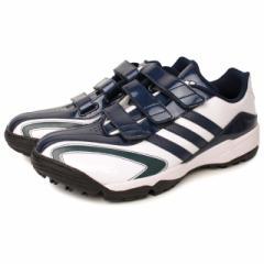 adidas(アディダス) 野球 トレーニングシューズ 一般 adipure TR アディピュア :ホワイト×ネイビー (F37770)