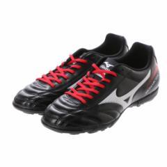 ミズノ(MIZUNO) サッカートレーニングシューズ 一般 MONARCIDA 2 FS AS : ブラック×シルバー (P1GD172303)