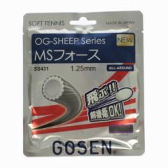 ゴーセン(GOSEN) ソフトテニス ストリング ガット OG-SHEEP MSフォース : ブラック (SS431)