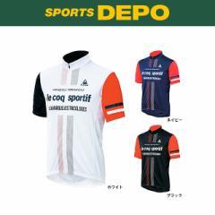 le coq sportif(ルコック) UVソフトメッシュジャージ (QC-741671) メンズ バイシクル サイクルジャージ ジャケット 自転車