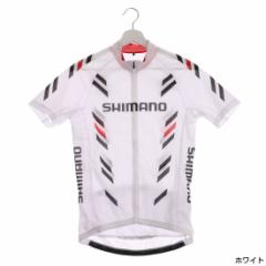 シマノ(SHIMANO) メンズ サイクル プリント ショートスリーブ ジャージ (CW-JSGS-QS51M)