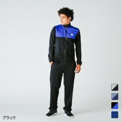 アディダス メンズ ジャージ 上下セット カラーブロックトラックスーツ (MMJ73) adidas