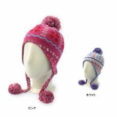 イグニオ ジュニア(キッズ・子供) ニット帽 (IG-9C46027KC) ニットキャップ スキー スノーボード IGNIO