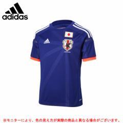 adidas(アディダス)日本代表 ジュニア用レプリカユニフォーム(AD659) サッカー 日本代表着用ウェア 半袖 子供用 2014年