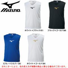 MIZUNO(ミズノ)ノースリーブインナーシャツ(P2MA8090)サッカー フットボール トレーニング ユニセックス