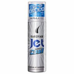 【医薬部外品】カロヤンジェット無香料スーパークール 185G 【3個セット】