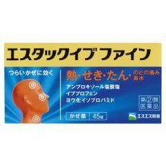【スイッチOTC】【指定第2類医薬品】エスタックイブファイン 45錠