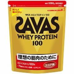 ザバス ホエイプロテイン100 ココア 1050g(50食分)