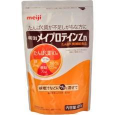 明治メイプロテインZn大袋 400g※発送:ご注文より11日以上かかります。