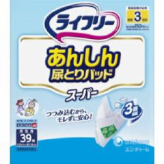 ライフリー尿とりパッドスーパー 男性用39枚【ケース販売4個入り】
